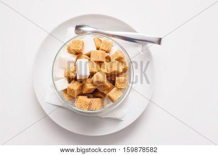 Saucer With Sugar.