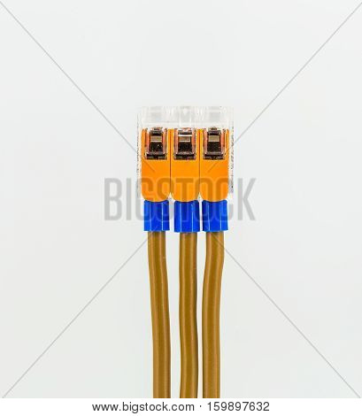 Connecting Electrical Cables To The Terminal Block