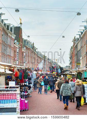 Street Market Amsterdam