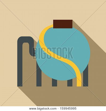 Refining icon. Flat illustration of refining vector icon for web