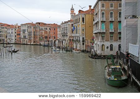 Palazzo Civran And Adjoining Buildings In Venice, Italy