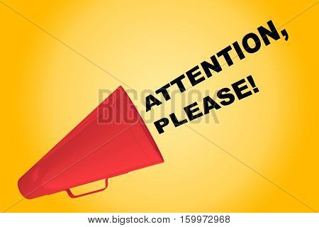 Attention, Please! Concept