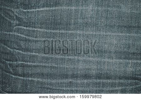 abstract crease on retro jean texture pattern - can use to display or montage on product