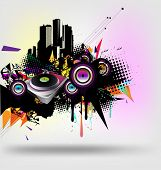 music urban vector
