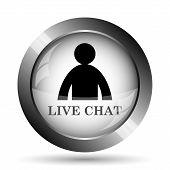 Постер, плакат: Live Chat Icon