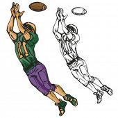 image of ncaa  - American football player - JPG