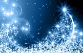 picture of christmas eve  - The best Christmas golden tree background - JPG