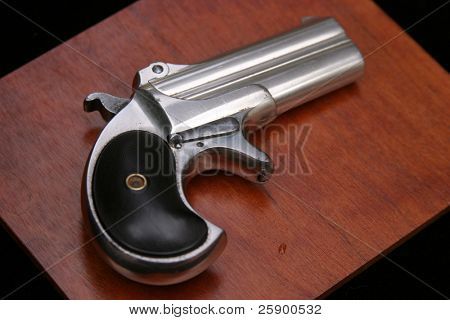 """Circa 1889, Model 95, Type II Model 3 Double Derringer"""