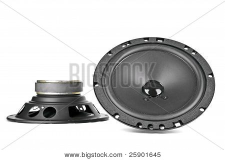 Two Car Speakers