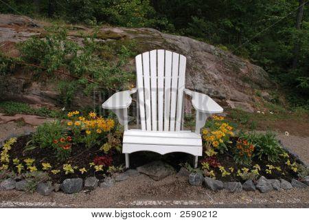 White Muskoka Chair