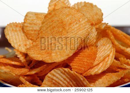 closeup churrasco batata frita