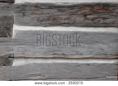 Log House Wall