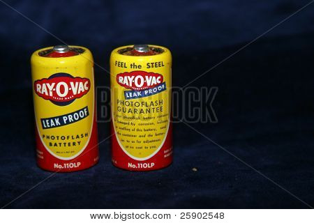 Old ray-O_vac batteries