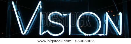 """""""neon sign"""" series vision"""