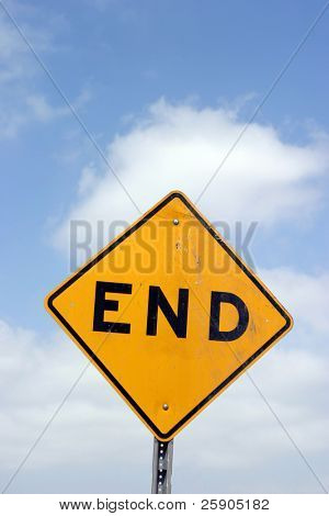 """traffic sign"" series ""end"""
