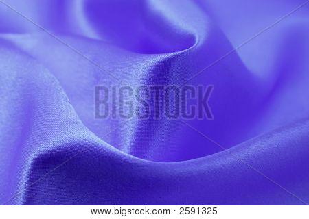 Silk Blue Drapery