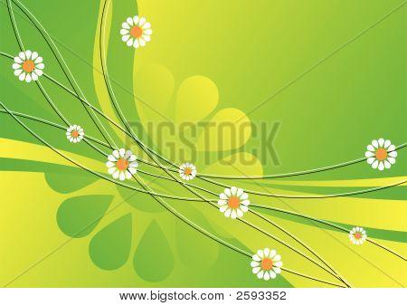 Abstrato de Primavera