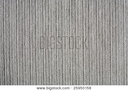 Coarse ribbed gray cotton fabric