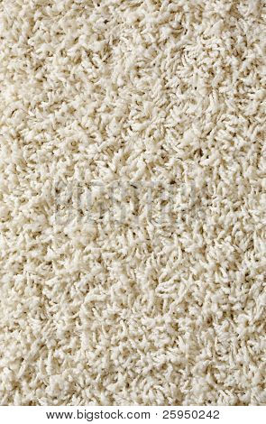 New white rug background texture