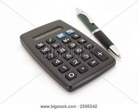 Calculator With Pen