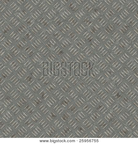 High resolution metal diamond style texture