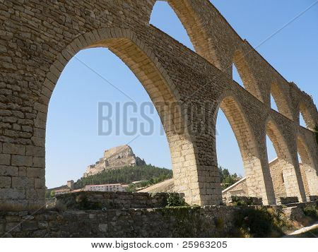 Aqueduct - Morella, Spain