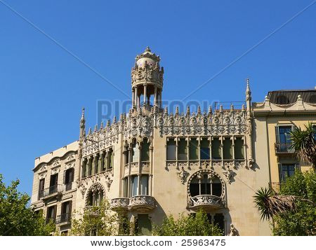 Old building in Barcelona