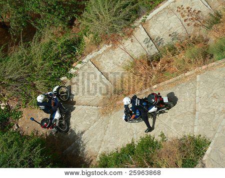 A Spain motorcylce cops