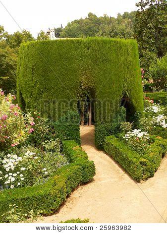 Parc of Alhambra, Granada, Spain