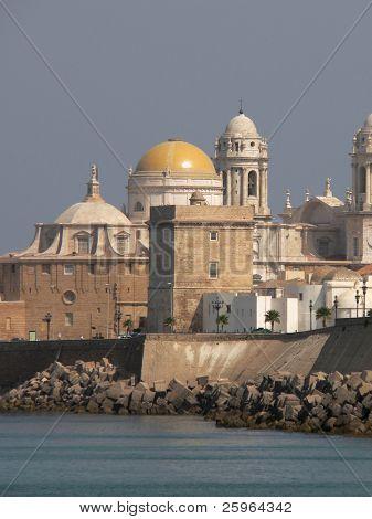 Cadiz - Spain city at mediterranean sea