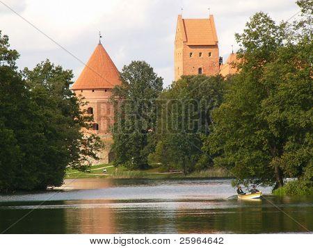 Lithuania Trakai castle, Europe