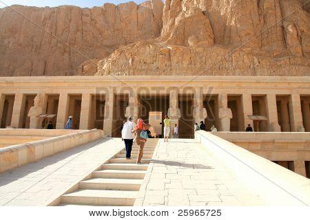 Deir El-Bahari, Luxor, Egypt.