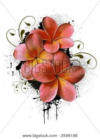 Floral Logo Or Ikon 3