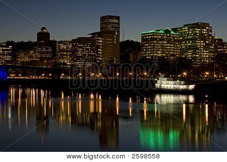 Portland Oregon Waterfront