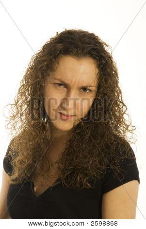 Angry Business Girl