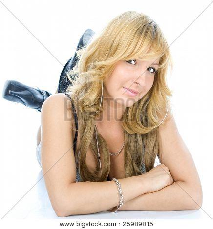 Beautiful fashion woman portrait