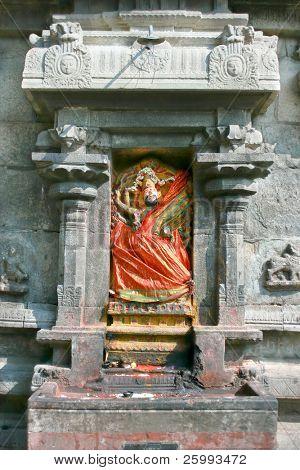 Detail of Arunachaleswar Temple in Tiruvannamalai  dates from the 11th century,Tamil Nadu, India