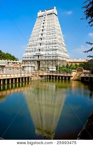 Arunachaleswar Temple in Tiruvannamalai  dates from the 11th century,Tamil Nadu, India