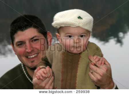 Father And Baby Son 004