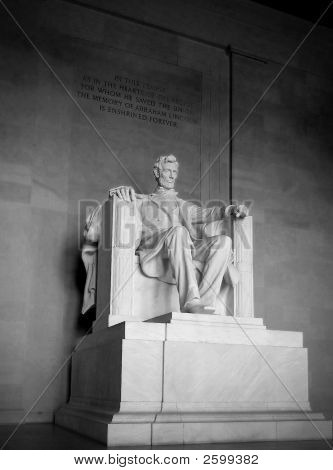 Lincoln Memorial Statue @ Lincoln Memorial