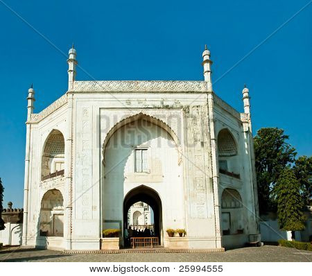 Entrance in Bibi-ka-Maqbara, poor's man Taj Mahal, Aurangabad , Maharshtra, India