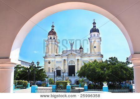 Cathedral de Nuestra Senora de la Asuncion in Santiago de Cuba, Cuba