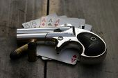 pic of derringer pistol  - Circa 1889 - JPG