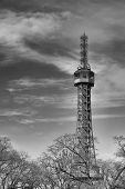 The Petrín Lookout Tower Is A 63.5 Metre Tall Steel Framework Tower In Prague, Which Strongly Resemb poster