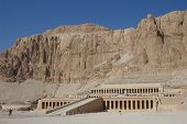 Mortuary temple of Queen Hapshepsut, one of the few female pharaohs, at Deir el-Bahri near Luxor (Th