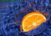 picture of crown green bowls  - Splash with fresh mandarin - JPG