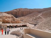 picture of burial-vault  - Valley of the Kings  - JPG