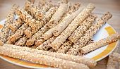 Integral Sticks Made With Whole Wheat Flour And Whole Grains poster