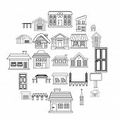 Creation Icons Set. Outline Set Of 25 Creation Vector Icons For Web Isolated On White Background poster