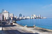 stock photo of malecon  - Havana Malecon  - JPG